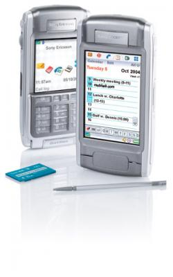 SONY ERICSSON P910 UNLOCKED TRIBAND GSM PDA CAMERA BLUETOOTH PHONE + SONY ERICSSON HBH-300 BLUETOOTH HEADSET