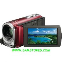 SONY DCR-SX44 FLASH PAL CAMCORDER (RED)