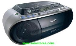 Sony CFD-S03CP MP3 CD RADIO Cassette Recorder