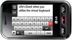 LG T320/T325 QUAD BAND UNLOCKED GSM MOBILE PHONE
