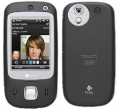 HTC Touch DUAL - 16 Key unlocked triband Black gsm phone