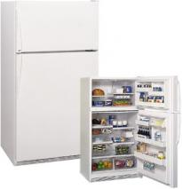 Amana 21CFT TR521VW Top Mount Refrigerator for 220/240 Volts