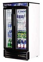 True TRGDM14RF-LD Commercial Swing Door Radius Front Refrigerator with LED Lighting 220-240 Volt/ 50 Hz