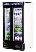 True TRGDM14RF-LD Commercial Swing Door Radius Front Refrigerator with LED Lighting 220-240 Volt/ 50 Hz