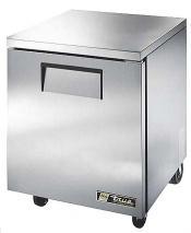 True ETU-27 Commercial Under Counter Solid Door Refrigerators 230-240 Volt