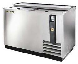 True ET50-18S Stainless Steel Horizontal Bottle Cooler 230-240Volts 50Hz