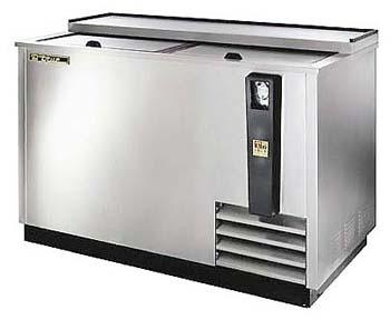 True ET50-18S Stainless Steel Horizontal Bottle Cooler 230-240Volts 50Hz