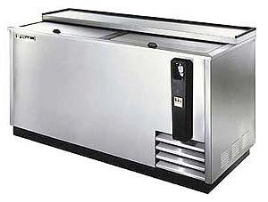 True ET-65-24S Stainless Steel Horizontal Bottle Cooler 230-240Volts 50Hz
