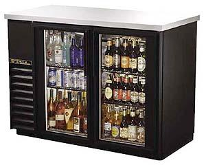 True ETB24-48G Glass Door Back Bar Cooler 230-240Volt