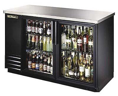 True ETB2G Back Bar Cooler with Glass Door 230-240 Volts 50Hz