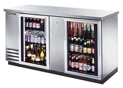 True ETB-3G-S Back Bar Cooler 230-240Volts