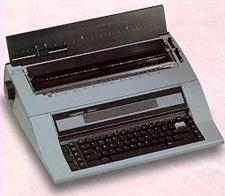 EWI 2416-EX220 Enhanced Memory & Functions Electronic Display Typewriter for 220volt, 50Hz