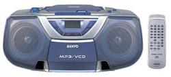 SANYO MCD-ZX99 Portable Boom Box  with Video CD play back