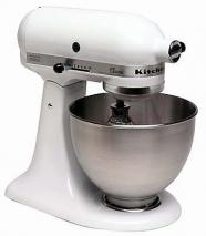 "KitchenAid 5K45SSEWH 220V/50Hz ""CLASSIC"" Multi Function Mixer"