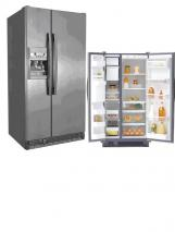 Whirlpool 6ED2FHGXVA Side by Side Refrigerator for 220 Volts