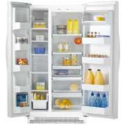Whirlpool ED2FHKXVQ 23 CFT  Side by Side Refrigerator for 220 Volts