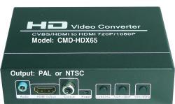 ComWorld CMD-HDX65 RCA to HDMI PAL/NTSC Converter
