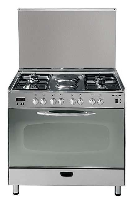 ELBA 96X770 GAS/ELECTRIC COMBINATION EUROPEAN COOKING RANGE FOR 220 VOLTS