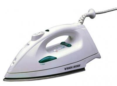 Black & Decker X800 Status Pro Iron Welter Weight Steam Iron for 220 volts