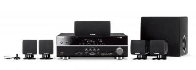 YAMAHA YHT-294D AV RECEIVER AND SPEAKER SYSTEM FOR 110-240 VOLTS