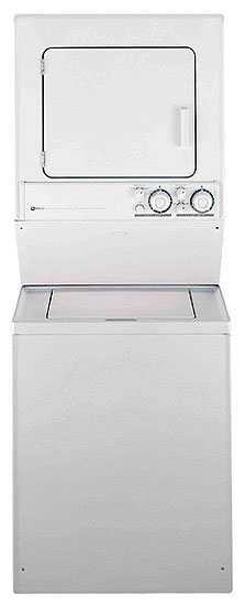 Frigidaire FEX831CS Stacked Washer&Dryer 220 Volts